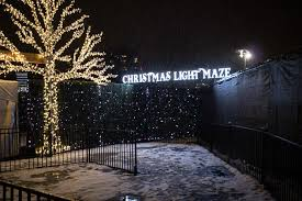 vancouver christmas light maze enchant light maze in vancouver foodology