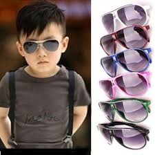 child cool children boys girls kids plastic frame sunglasses