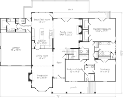 Southern Living Floorplans Brady U0027s Bluff John Tee Architect Southern Living House Plans