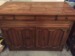 solid wood sewing machine cabinets vintage 1970s singer athena 2000 sewing machine solid wood cabinet
