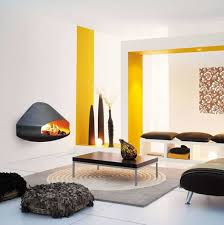 modern fireplace wall hanging on the wall modern fireplace