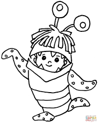 boo coloring page free printable coloring pages
