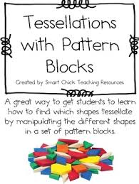 pattern blocks math activities tessellations with pattern blocks a hands on math activity