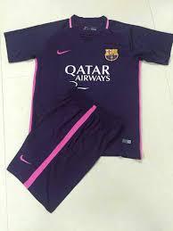 Baju Adidas Ori baju bola anak barcelona away 2017 nike jual jersey barcelona