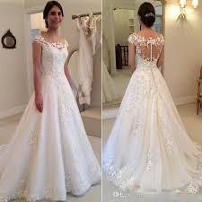 christian wedding gowns discount 2017 a line wedding dresses garden western