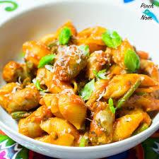low syn spicy sausage pasta slimming world pinch of nom