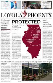 loyola phoenix volume 49 issue 2 by loyola phoenix issuu