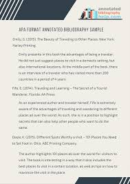 how to write an interview paper in apa format apa format annotated bibliography sample that can help you apa format annotated bibliography sample that can help you complete your writing process and our