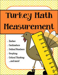 turkey measurement thanksgiving print and go by creations by