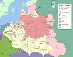 Map Of Lithuania Lithuania Map 15th Century