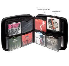 media storage case 240 cd disc storage case by slappa