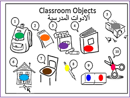 worksheet classroom objects