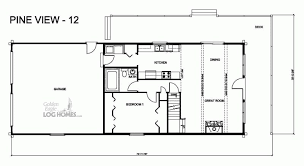 pv plan golden eagle log and timber homes floor plan details pv 12