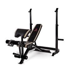 amazon com marcy diamond adjustable olympic weight bench md 879