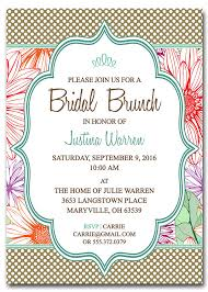 bridesmaids luncheon invitations bridal luncheon invitation templates templates resume exles