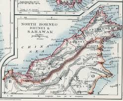 Brunei Map Brunei Protectorate
