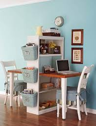Small Desk With Bookcase Diy Project Double Desk Bookcase Double Desk Desks And