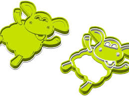 timmy sheep cookie cutter figures
