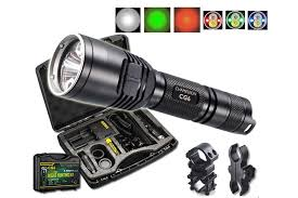green light for hog hunting cg6 rechargeable hog hunting light w green white red beams