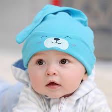 wholesale new baby hat autumn winter baby beanie warm sleep cotton