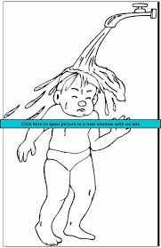 Hand Washing Coloring Sheets - hygiene 6 free printable hygiene coloring pages