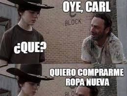 Walking Dead Meme Carl - meme carl 28 images rick and carl meme imgflip get out of here