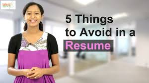 44 resume writing tips 5 things to avoid in a resume resume writing tips talentsprint 5 things to avoid in a resume resume writing tips talentsprint