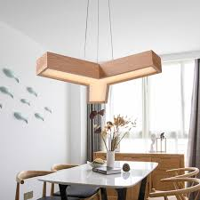 Leaf Pendant Light Solid Wooden Maple Leaf Pendant Lamp Creative Personality Designer
