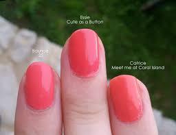 coral nail polishes mateja u0027s beauty blog