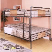 ACME Furniture Brantley Queen Over Queen Bunk Bed  Reviews Wayfair - Queen over queen bunk bed