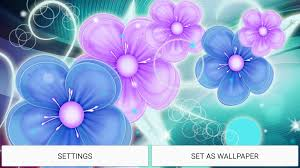 Flower Pictures Neon Flower Live Wallpaper 3 0 Apk Download Android