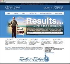 website homepage design south jersey custom web design portfolio steve frame