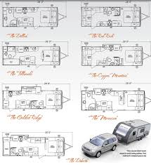 Pop Up Camper Floor Plans by Fleetwood Prowler 5th Wheel Floor Plans Part 49 2008 Prowler