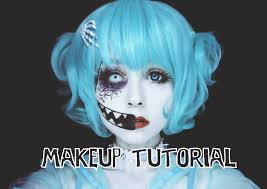 creepy cute makeup tutorial youtube