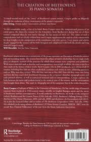 the creation of beethoven u0027s 35 piano sonatas ashgate historical