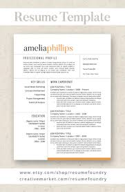 Microsoft Word Professional Resume Template 98 Best Professional Resumes From Resume Foundry Images On