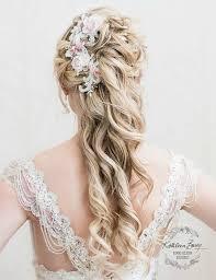 Hochsteckfrisurenen Mit Haarteil by Die Besten 25 Blumen Haar Accessoires Ideen Auf