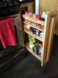 Narrow Pull Out Spice Rack Spice Rack Hmm Maybe Could Build Some Simple Rack Tall And