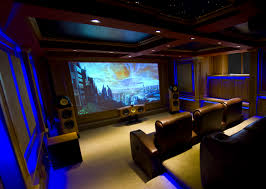 home movie theater design pictures b u0026w nautilus home theatre cellar great indirect blue lighting