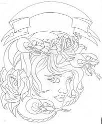 for unique sketchbook art galleries medusa sketch