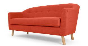 Sofa King Advert by Lottie 3 Seat Sofa Tuscan Orange Made Com