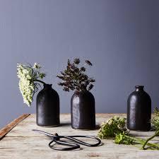 3 Vases Set Black Porcelain Bud Vases Set Of 3 On Food52