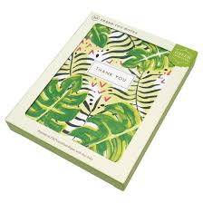 10ct tropical thanks thank you cards target