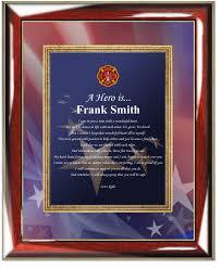 personalized fireman academy firefighter graduation gift