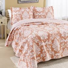 Laura Ashley Twin Comforter Sets Laura Ashley Bedford Reversible Quilt Set Hayneedle