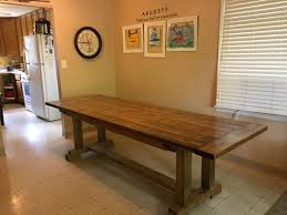 rustic farmhouse table buildsomething com