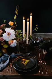 thanksgiving place setting ideas crate and barrel blog