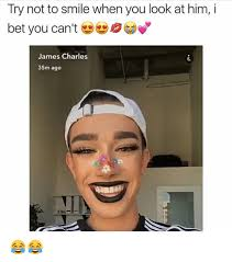 Bet Meme - try not to smile when you look at him i bet you can t james
