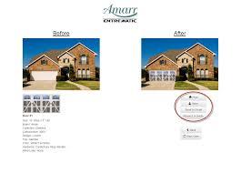 design house brand door hardware amarr door designer helps popular diy blogger increase curb appeal