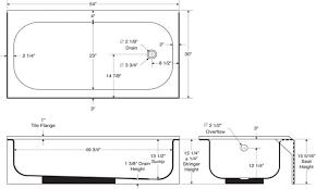 bathtub size standard tubethevote